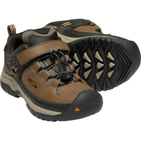 Keen Targhee WP Sko Børn, dark earth/golden brown